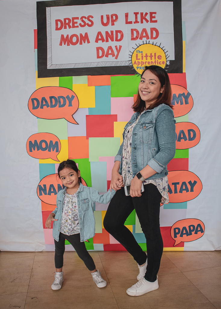 Mom and Daughter Twinning Outfit Idea