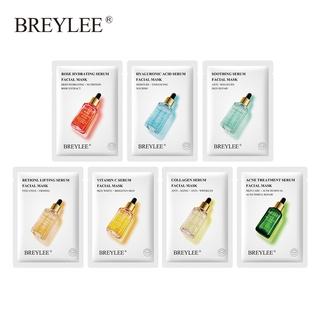 BREYLEE Facial Sheet Mask Acne Treatment Soothing Whitening Moisturizing Skincare 1PC