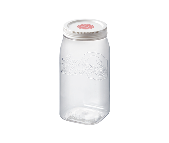 Lock and Lock Door Pocket Canister Square 1L